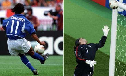 O tym, jak Ronaldinho doprowadził Davida Seamana do łez